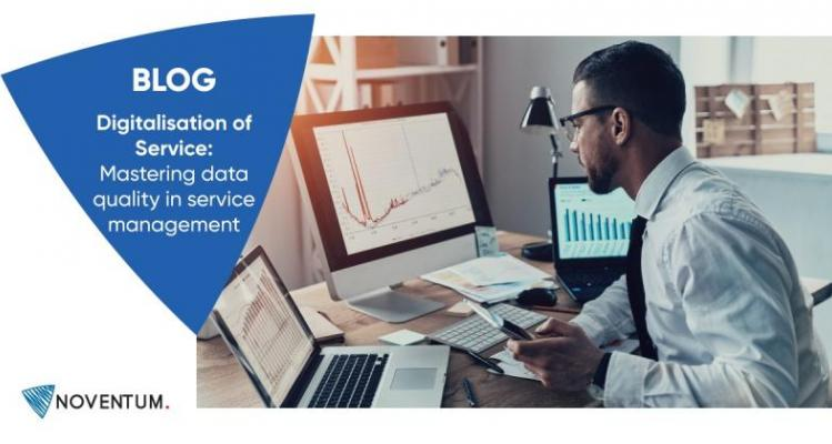 Mastering data quality in service management